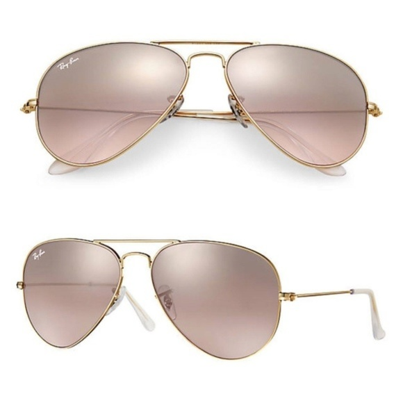 e2575e983 Ray-Ban Accessories | Rayban Aviator Rb3025 0013e Gold Pink ...